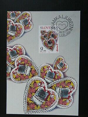 heart love maximum card Slovenia 86073