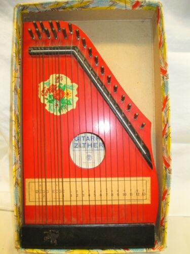 Rare / Vintage German JUBEL TONE Small String Harp Lute 1960