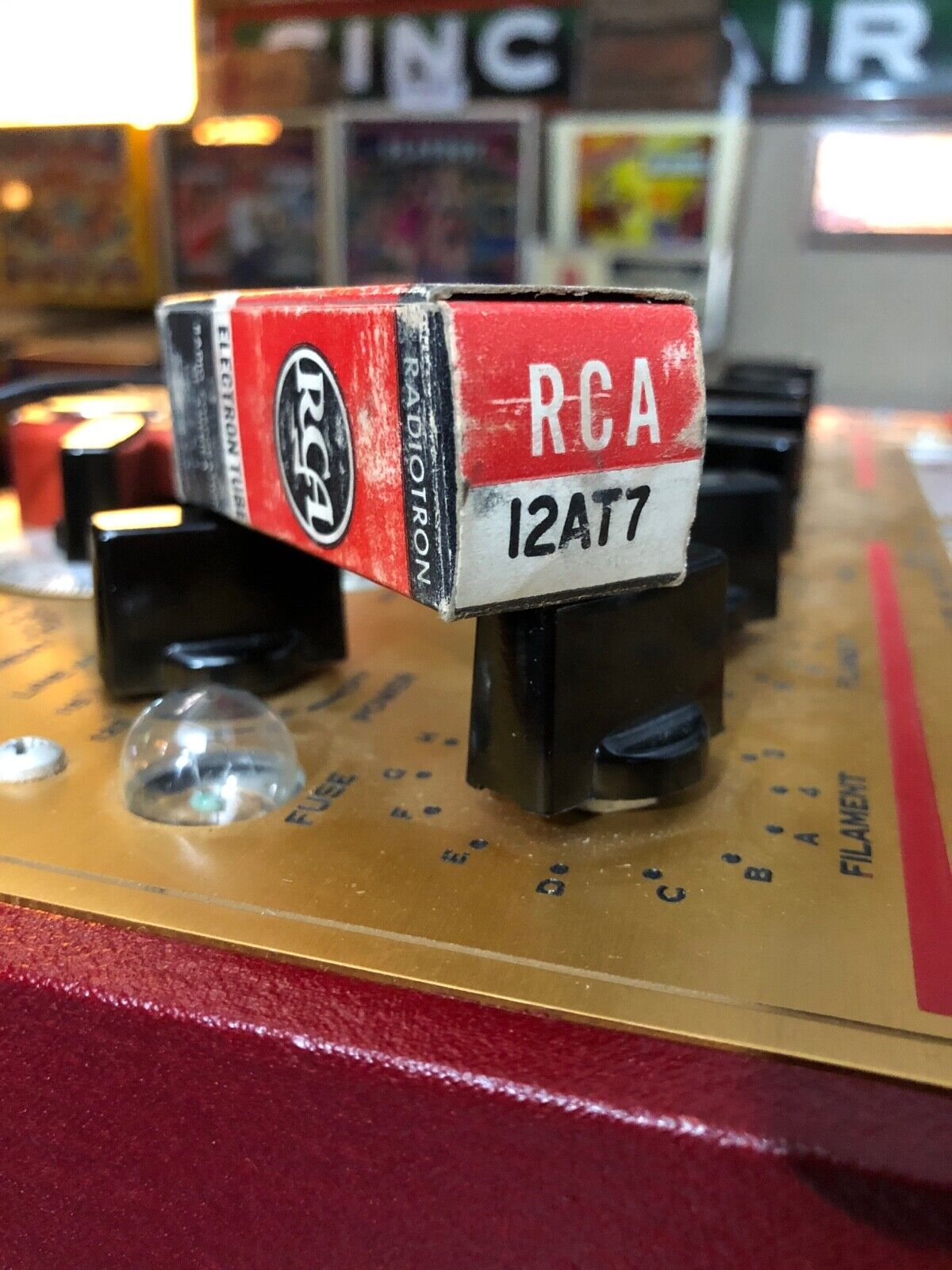 PAIR OF RCA 12AT7 Tubes, NOS VERIFIED EXCELLENT  - $14.99