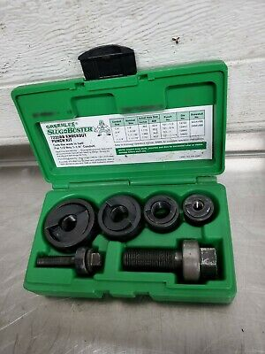 Greenlee 7235bb Slug-buster Manual Knockout Kit For 12 To 1-14 Conduit 2