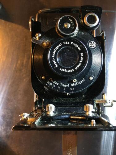 Nagel Vintage Librette Folding Camera