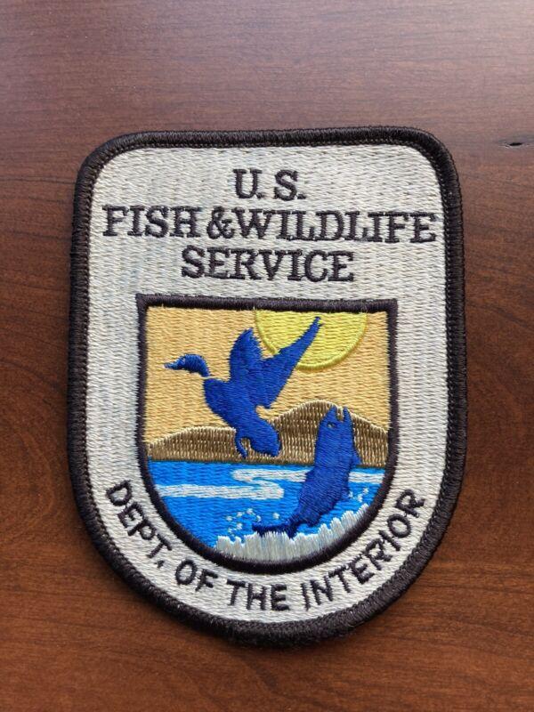 US Fish & Wildlife Service Patch