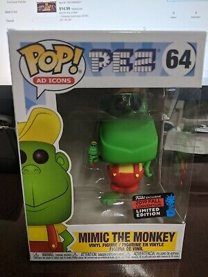 Funko Pop AD Icons Pez 64 Mimic The Monkey Limited Edition