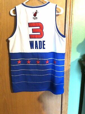 Dwayne Wade 2006 NBA All Star Jersey Size Adult Medium