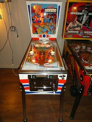 Gottlieb 1973 King Pin Pinball Machine - Restored! Great Game! Great Price!