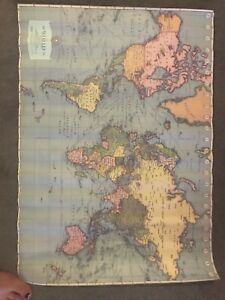World map poster gumtree australia free local classifieds gumiabroncs Choice Image