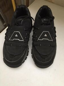 FAB Black Vintage Genuine 1990s Acupuncture Trainers Good condition EU37/UK4