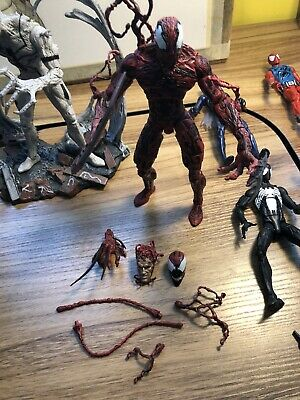 spiderman action figures lot