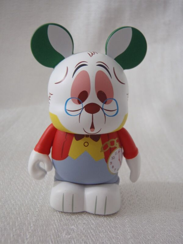 "Disney Vinylmation Alice In Wonderland Series - THE WHITE RABBIT 3"" Figure"
