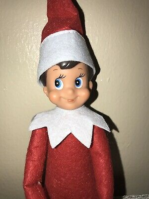 Elf On The Shelf Red Boy Doll Only FAST SHIPPING