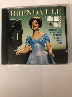 Brenda Lee - Little Miss Dynamite - CD - (Miss Brenda)