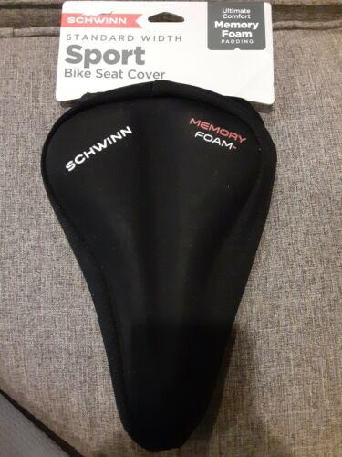 Schwinn Sport Bicycle Memory Foam Seat Cover Black