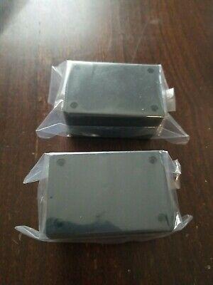 Lot Of 2 . Plastic Project Enclosure Hobbie Box - 2.5 X 1.75 X 1.25