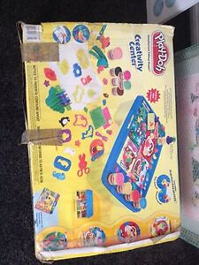 Play doh station - with many play doh tools Kellyville The Hills District Preview