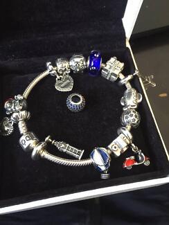 Pandora 14 charms and bracelet! Keysborough Greater Dandenong Preview