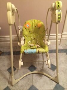 Fisher Price Smart Stages 3 In 1 Swing n Rocker