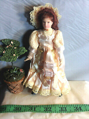 DOLLHOUSE MINIATURE ~ VINTAGE DOLL BOX