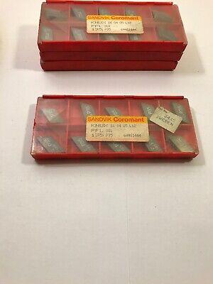 Sandvik Coromant Carbide Inserts Knux160405l12 135 P35 Qty 10