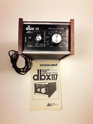 DBX 119 Dynamic Range Enhancer