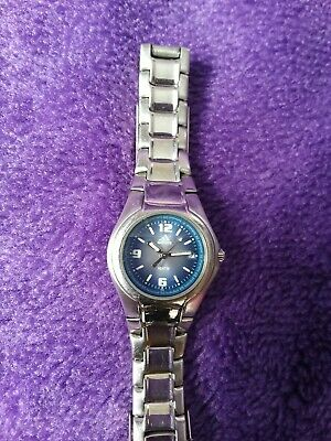 Adidas Womens Watch Blue Face 1998 Used