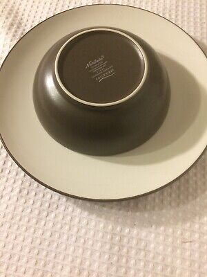 Noritake Colorwave Chocolate Cereal (Noritake COLORWAVE CHOCOLATE Brown Dinner Plate 10 3/4 inch And Cereal)