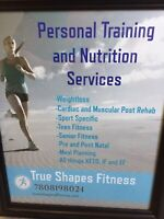 Personal training and nutrition services