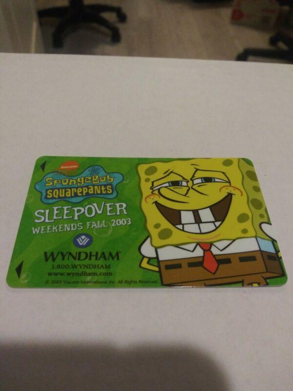 Rare Spongebob Squarepants Nickelodeon Wyndham Hotel Sleepover Weekends 2003