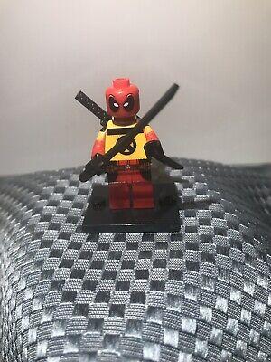 Custom Minifigure Marvel Deadpool Villain Deadpool 2 ARRIVES IN 2-4 DAYS