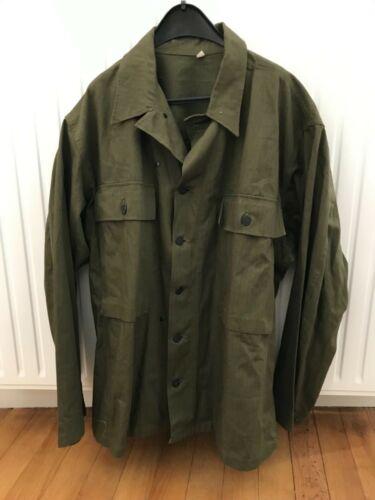 Vintage P-43 HBT Shirt 46R US ARMY 40s