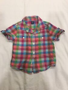 Baby Gap Button Down. Size 2