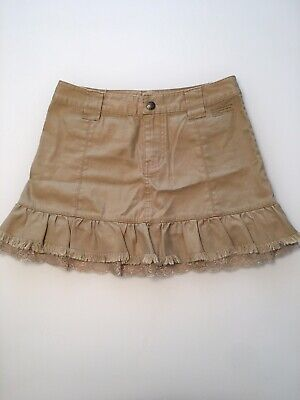 DKNY Jeans Short Skirt Mini/above The Knee Drab Green Size 1