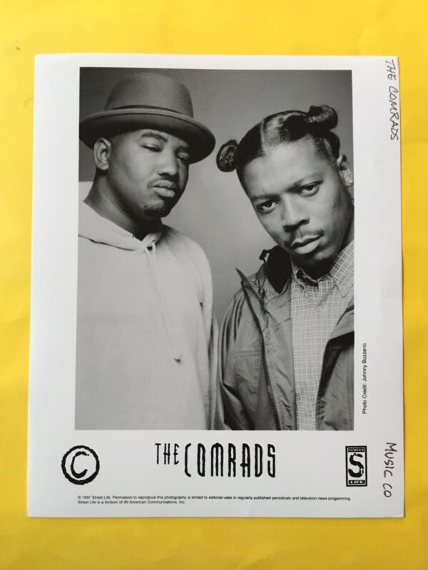 "The Comrads Press Photo 8x10"", Street Life Records."