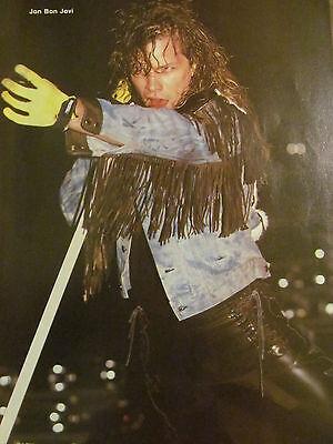 Jon Bon Jovi, Full Page Vintage Pinup