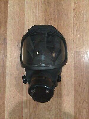 Medium Msa Facemask Scba Air Pack Fire Dept Fireman Fire Fighter