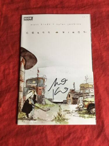 GRASS KINGS #1~SOLD OUT 1st PRINT~SIGNED BY WRITER MATT KINDT~BOOM STUDIOS~B
