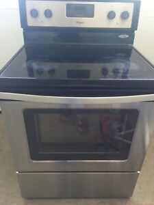 Whirlpool stainless steel 30 inches stove