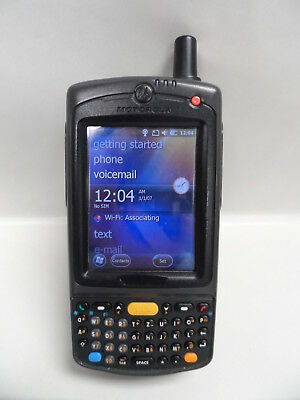 Motorola Symbol Pocket PC Barcode Scanner MC7596 - PZCSKZWG9WR with Battery Motorola Pocket Pc