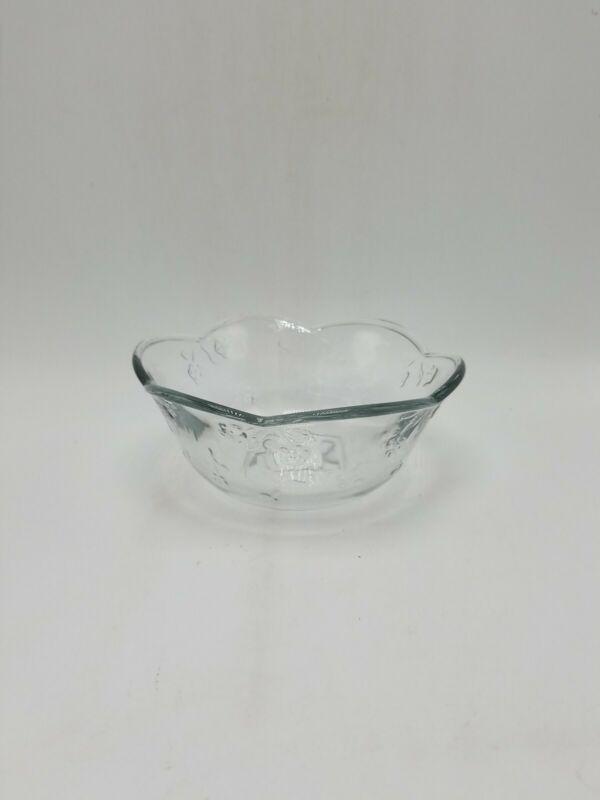 "Anchor Hocking ""Savannah Clear"" Cereal Bowl - 6 1/4 Inch"
