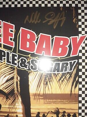 The Specials Signed NEVILLE STAPLE FREE BABY (FEAT. SUGARY STAPLE 7