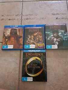 The Hobbit and Lord of The Rings Collection Blu ray Wulagi Darwin City Preview
