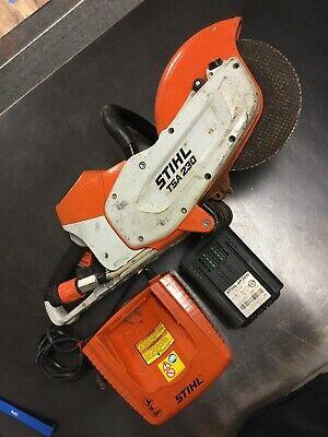 Stihl Tsa 230 Cut Off Saw Battery Powered W Charger