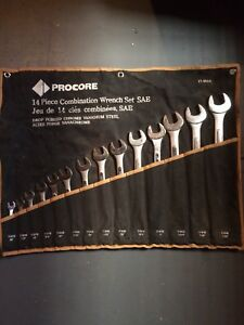 14 PIECE COMBINATION WRENCH