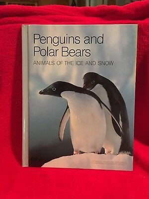 Polar Bears And Penguins (Penguins and Polar Bears Animals of Ice NGS Young Explorers Hardcover HC)