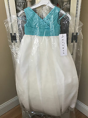 Bill Levkoff Bridesmaids / Flower Girl Dress Size 1 Style 15401 Glacier NEW Bill Levkoff Junior Bridesmaid Dresses