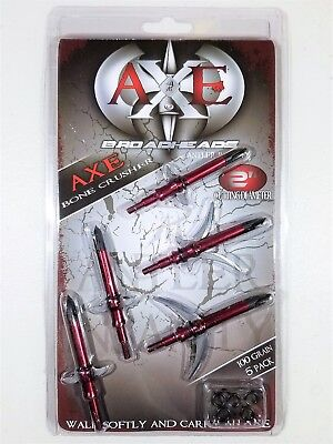AXE BONE CRUSHER Expandable Curved Sickle Chisel Tip 100Gr 2