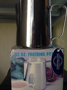 Frothing pitcher 18/8 S/S
