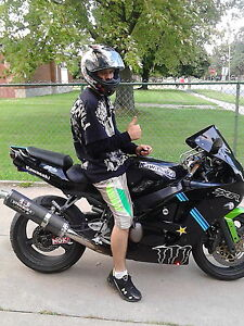 killer ninja ZX6R chiped for fast sale