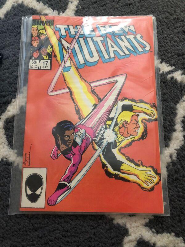 The New Mutants #17 (Jul 1984, Marvel)