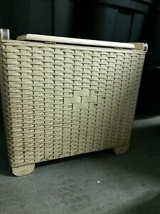 Vintage (65 years old) Wicker Laundry Basket