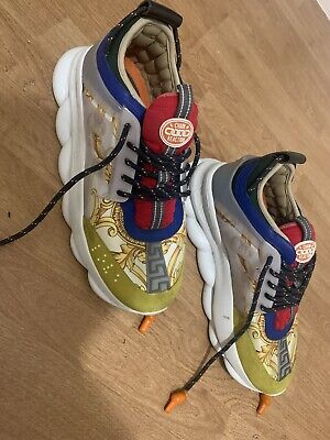 Versace Chain Reaction Size 9 Used exclusive GENUINE